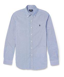 Polo Ralph Lauren | Lim-Fit Gingham-Checked Cotton Hirt