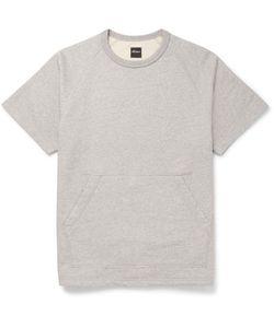 Albam | Mélange Cotton-Jersey Sweatshirt