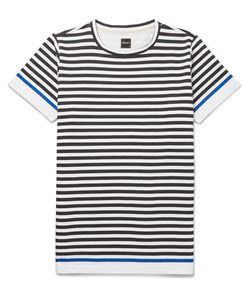 Albam | Slim-Fit Striped Cotton-Jersey T-Shirt