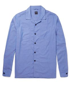 Albam | Island Camp-Collar Cotton Shirt