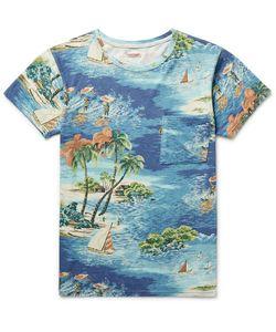 Kapital | Slim-Fit Printed Cotton-Jersey T-Shirt