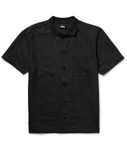 Stüssy | Vacation Ebroidered Atte-Satin Shirt