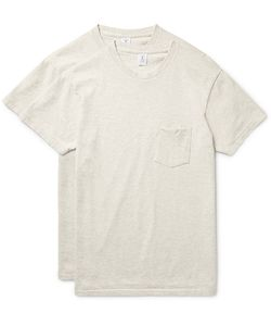 Velva Sheen | Two-Pack Cotton-Blend Jersey T-Shirts
