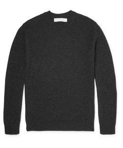 Private White V.C.   Rivate White V.C. Waffle-Knit Cashmere Sweater