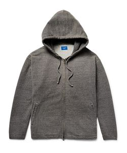 Beams | Beam Loopback Cotton-Jerey Zip-Up Hoodie