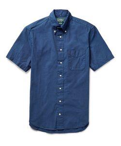 Gitman Vintage | Slim-Fit Button-Down Collar Cotton Oxford Shirt Storm