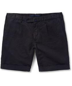 Incotex | Slim-Fit Linen And Cotton-Blend Shorts