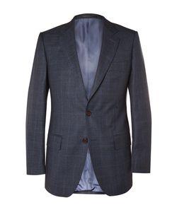 GIEVES & HAWKES | Slim-Fit Checked Wool Suit Jacket