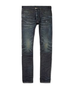 Fabric-Brand & Co | Jericho Slim-Fit Selvedge Denim Jeans