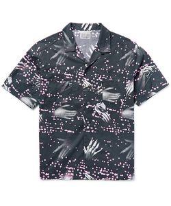 CAV EMPT | Cav Ept Cap-Collar Printed Cotton Shirt