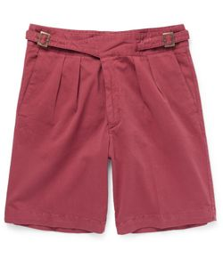 RUBINACCI | Manny Washed Stretch-Cotton Bermuda Shorts