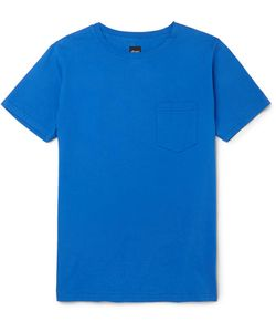 Albam | Slim-Fit Garment-Dyed Cotton-Jersey T-Shirt