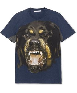 Givenchy | Rottweiler-Print Cotton-Jersey T-Shirt