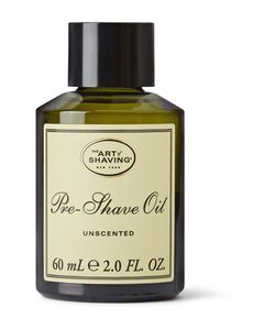 The Art of Shaving | Unscented Pre-Shave Oil 60ml