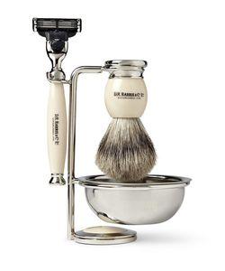 D R Harris | Four Piece Shaving Set