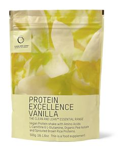 Bodyism's Clean and Lean | Vegan Protein Excellence Vanilla Shake