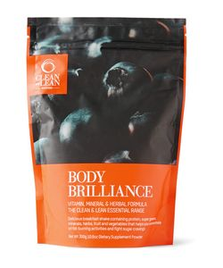 Bodyism's Clean and Lean | Body Brilliance Supplement Shake 300g