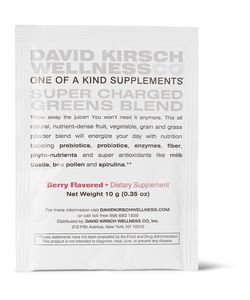 David Kirsch Wellness Co. | Super Charged Greens Blendreg