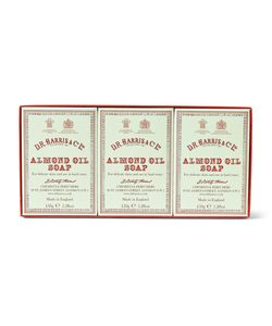 D R Harris | Three-Pack Almond Oil Soaps