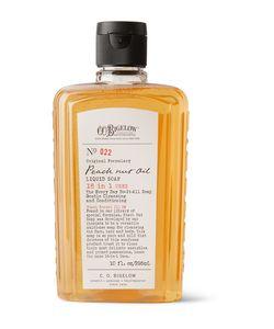 C.O.Bigelow   Peach Nut Oil Cleanser 295ml