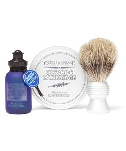 Czech & Speake | Oxford Cambridge Travel Shaving Set