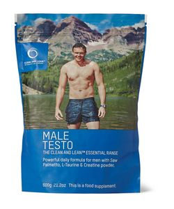Bodyism's Clean and Lean | Male Testo Powerful Daily Formula