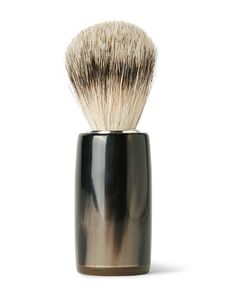 Abbeyhorn | Horn And Super Badger Bristle Shaving Brush