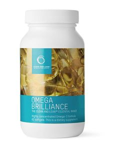 Bodyism's Clean and Lean | Omega Brilliance Supplement 60 Capsules