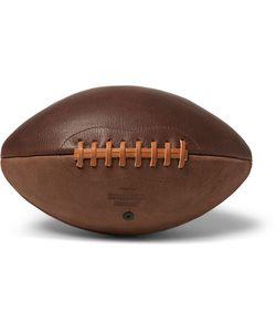 SHINOLA | Two-Tone Leather American Football