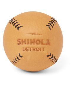 SHINOLA | Lemon Balltrade Leather Baseball