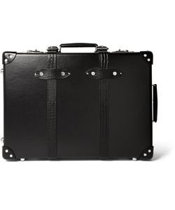 Globe-Trotter | 21 Croc-Effect Leather-Trimmed Trolley Case