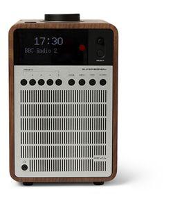 Revo   Supersignal Walnut And Aluminium Digital Radio