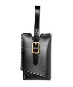 Tarnsjo Garveri   Perforated Leather Luggage Tag
