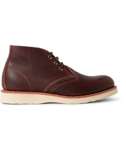 Red Wing Shoes | Chukka Rubber-Soled Leather Boots