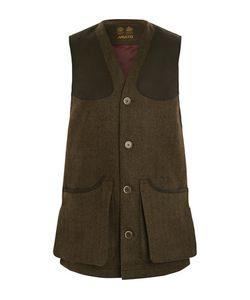 Musto Shooting | Usto Shooting Checked Wool-Blend Tweed Gilet