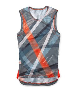 Chpt./ | // 1.81 Printed Mesh Cycling Tank Top