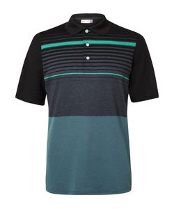 Kjus Golf | Stevie Striped Piqué Polo Shirt