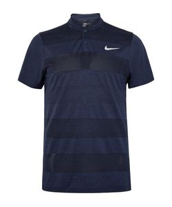 Nike Golf | Mm Fly Blade Triped Dri-Fit Jacquard-Knit Polo Hirt