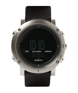 SUUNTO | Core Brushed Stainless Steel And Rubber Sports Watch