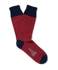 Corgi | Arled Wool And Cotton-Blend Socks