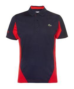 Lacoste Tennis   Two-Tone Cotton-Piqué Polo Shirt