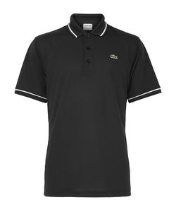 Lacoste Tennis | Contrast-Tipped Ultra Dry Piqué Polo Shirt