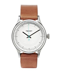 Tsovet | Jpt-C036 36mm Stainless Steel And Leather Watch