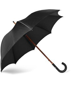 FRANCESCO MAGLIA | Lord Woven Leather-Handle Umbrella