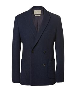 CASELY-HAYFORD | Blue Koston Slim-Fit Unstructured Woven Wool-Blend Suit Jacket