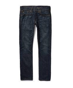 RRL | Slim-Fit Washed Selvedge Denim Jeans