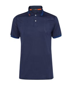 RLX Ralph Lauren | Luke Donald Perforated Tretch-Jerey Polo Hirt