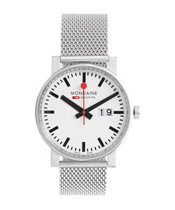 Mondaine | Evo Big Date Stainless Steel Watch