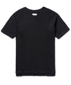 Fanmail | Waffle-Knit Organic Cotton T-Hirt