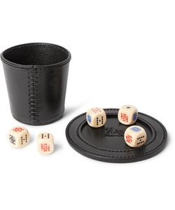 Hector Saxe | Liars Poker Dice With Leather Cup